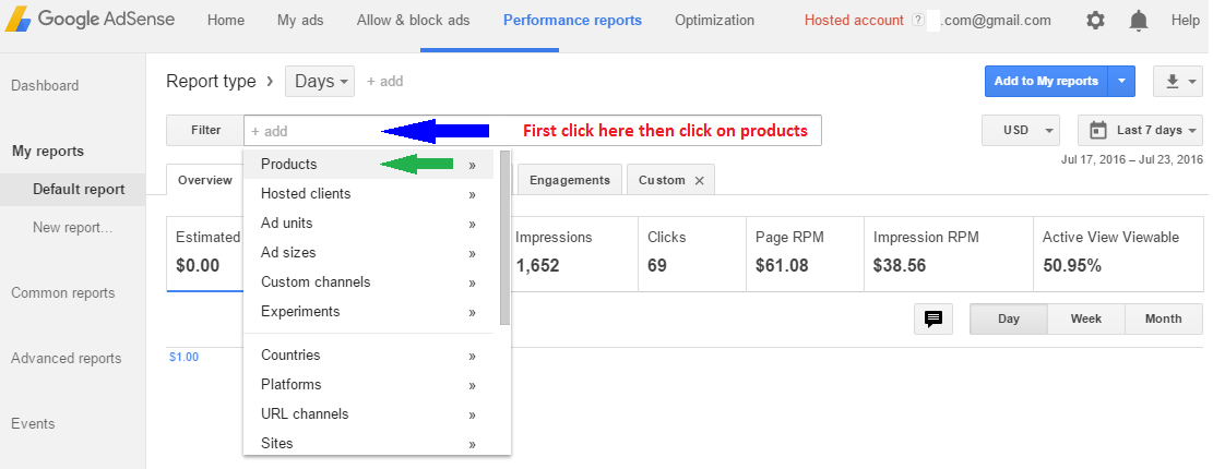 How To View Youtube Earnings in Adsense - Sitesbay