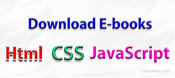 Download CSS, Html, JavaScript Notes