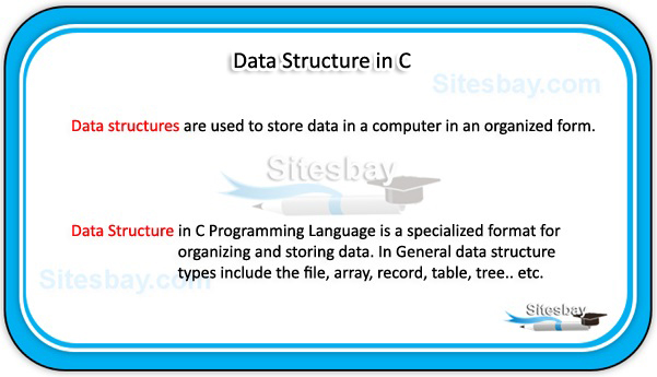 data structure in c