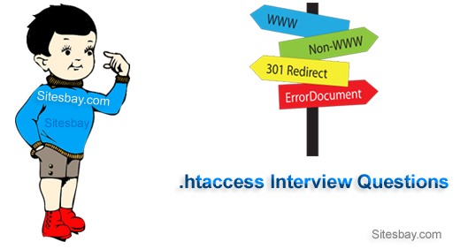 .htaccess interview questions