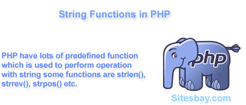 string function in php