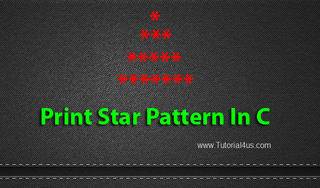 print star pattern in c
