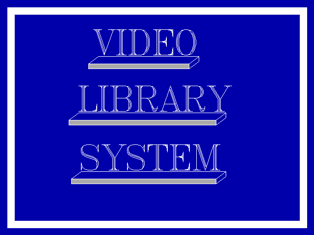 Video Library Management