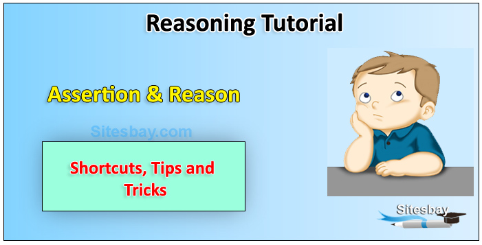 assertion and reason tips and tricks