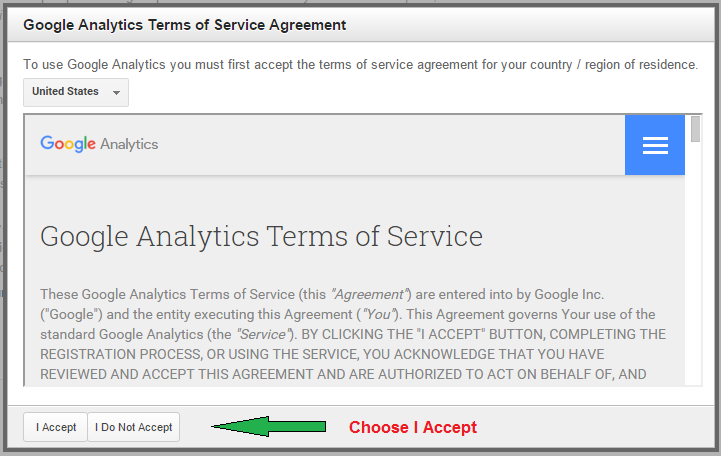 analytics agreement