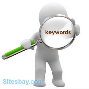 places to put keyword